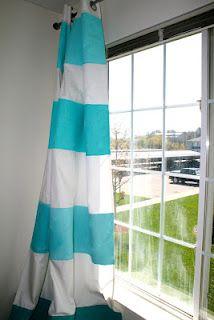 Cute DIY curtains