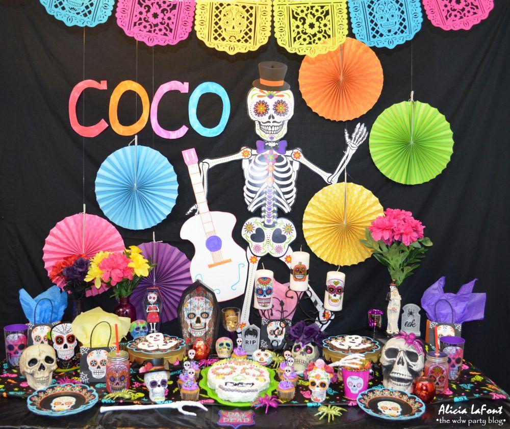 Fiesta Tematica De Coco Disney Decoracion Para Cumpleanos