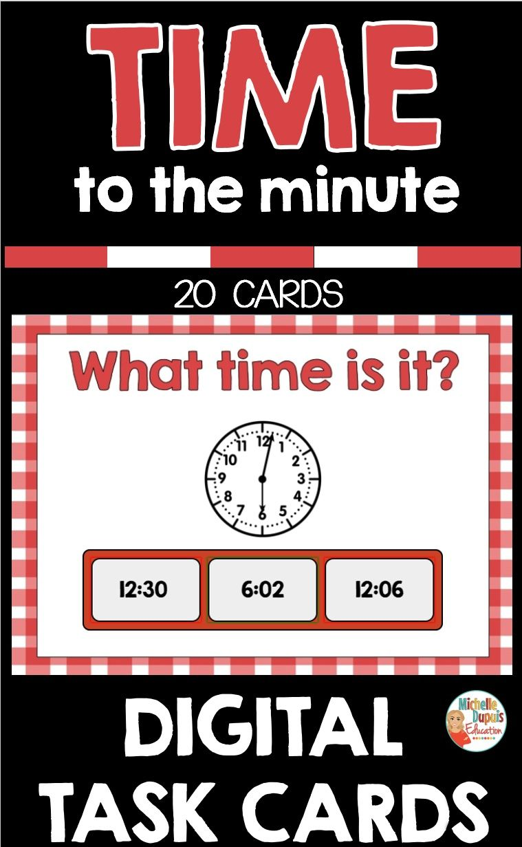 Boom cards telling time in 2020 telling time practice