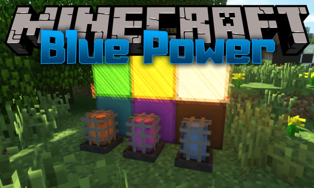 Blue Power Mod 1 15 1 1 14 4 Download Miinecraft Org Minecraft Mods Minecraft Multiplayer Minecraft Pocket Edition