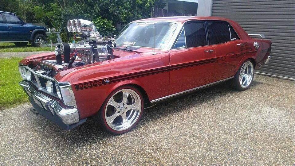 Blown XY GT Falcon Customs, Hot Rods and Muscle cars