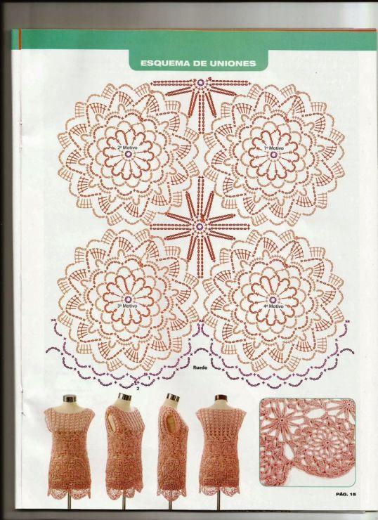 Gallery.ru / Фото #2 - Tejido practico Crochet Calados 2013-03 - WhiteAngel