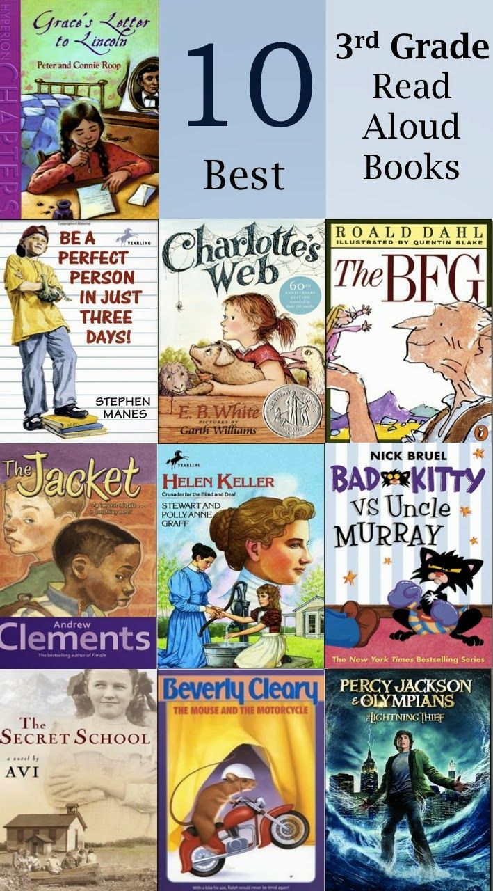 Inspiration For Education 10 Best Read Alouds For 3rd Grade