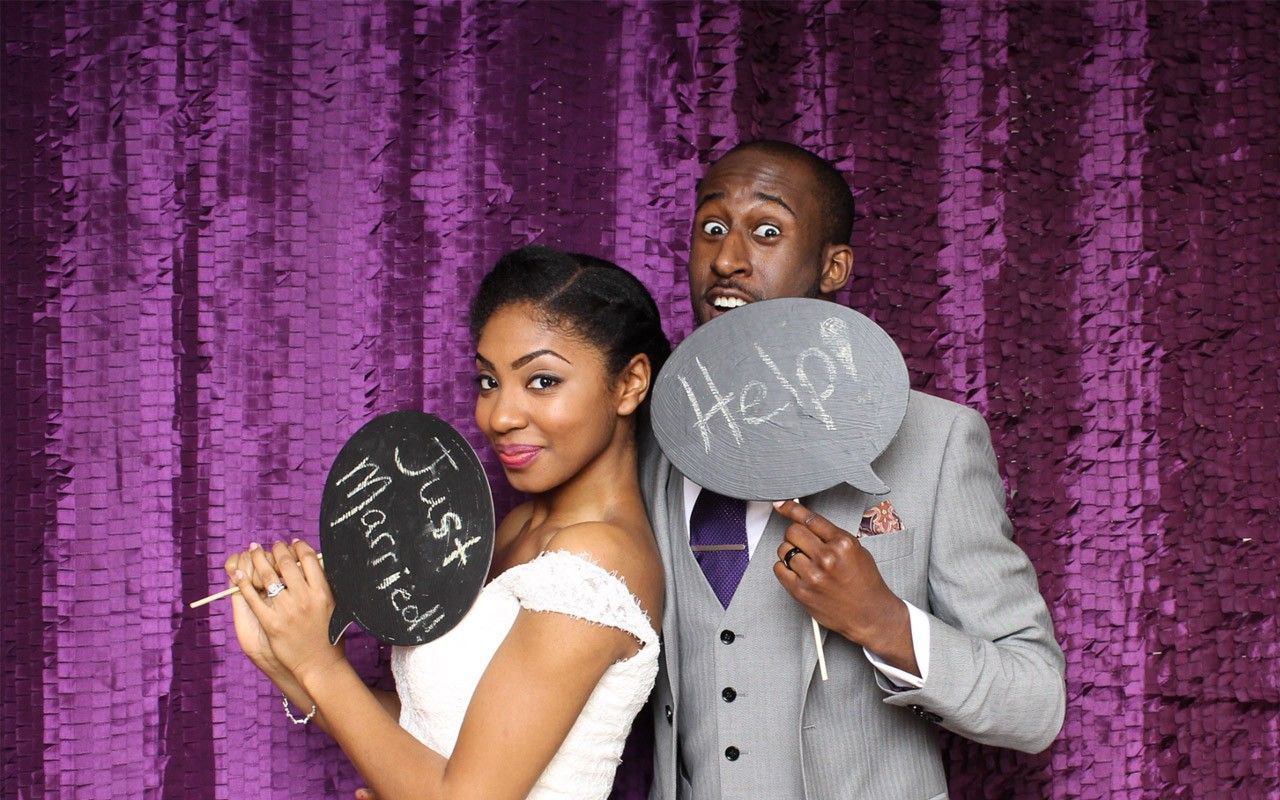 Black Wedding Style: A Little Humor and a Lot of Love - Photos - EBONY