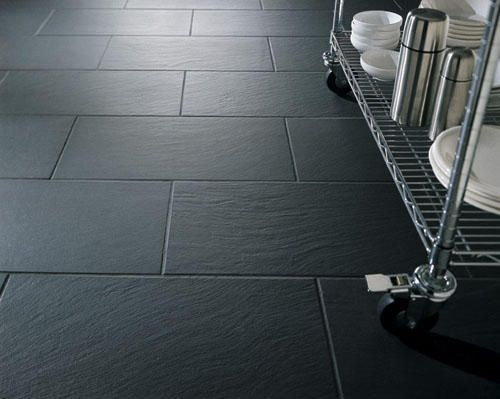 Bathroom Flooring Charcoal Slate Porcelain Kitchen Flooring