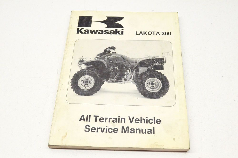 Oem Kawasaki Service Manual 95 Lakota 300 Ebay Motors Parts Amp Accessories Manuals Amp Literature Ebay All Terrain Vehicles Kawasaki Lakota