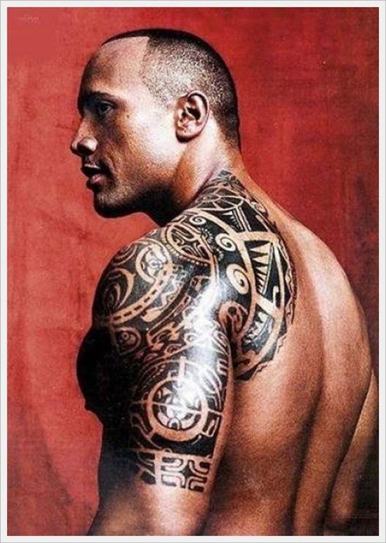 Resultado de imagen de tatuajes actor la roca