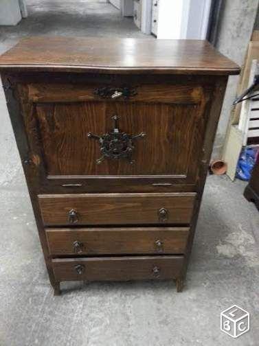 Ancien meuble en bois original Ameublement Maine-et-Loire - leboncoin.fr 25€