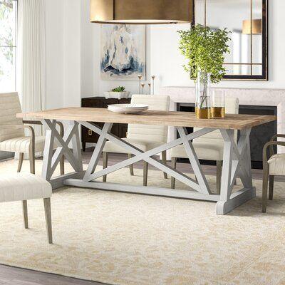 Furniture Classics Aquarius Solid Wood Dining Table In 2020