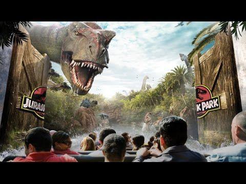 4k Welcome To Jurassic Park Japan The Ride At Universal Studios Osaka Youtube Universal Studios Jurassic Park The Ride Universal Studio Osaka