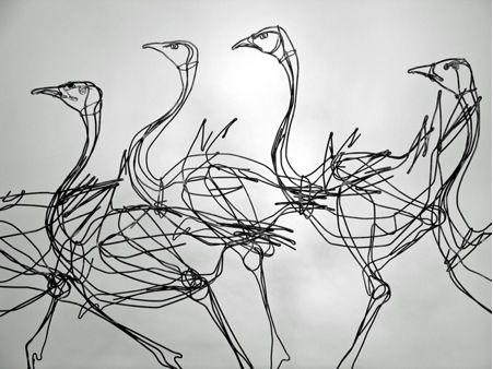 tom hill wire sculpture san francisco - Google Search