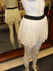 lace shorts from Runway!
