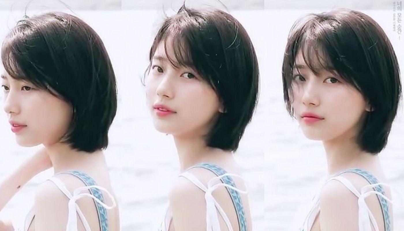37 Best Bae Suzy Kpop Short Haircut Now Gaya Rambut Pendek Ide Gaya Rambut Gaya Rambut