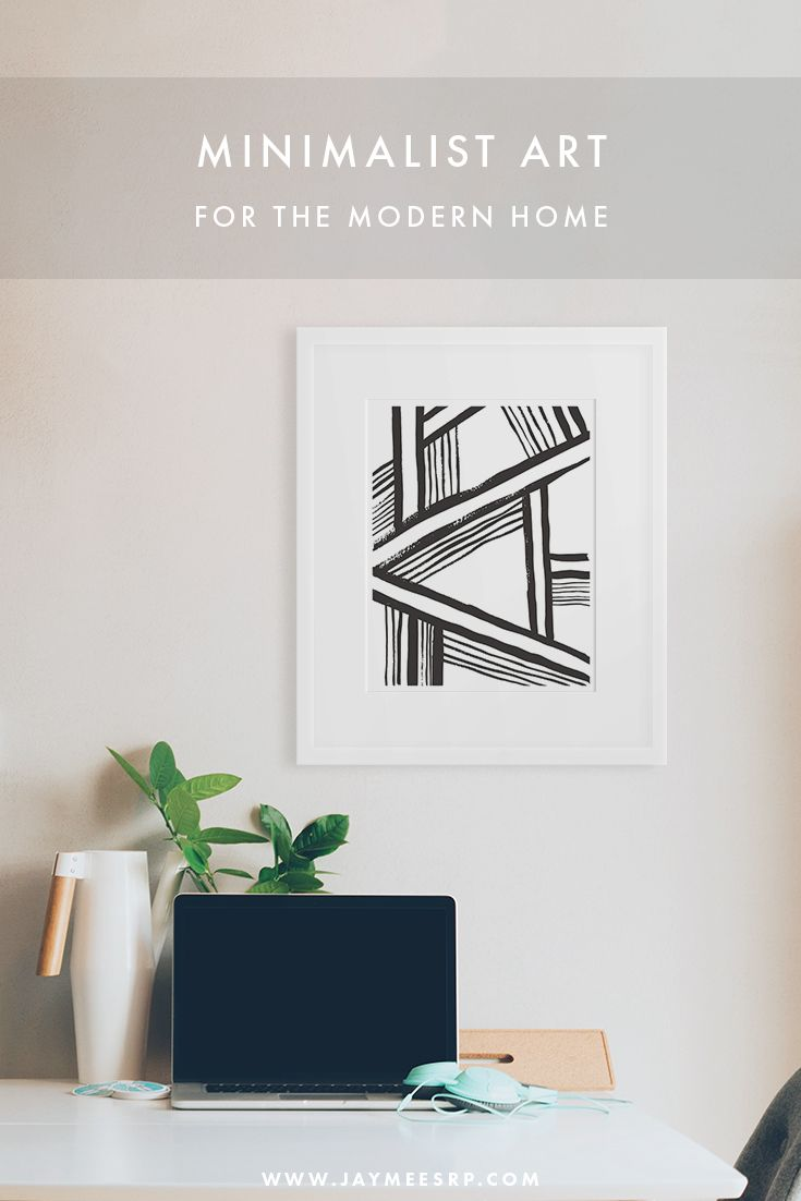 Minimalist art for the modern home. Click to shop www.jaymeesrp.com ...