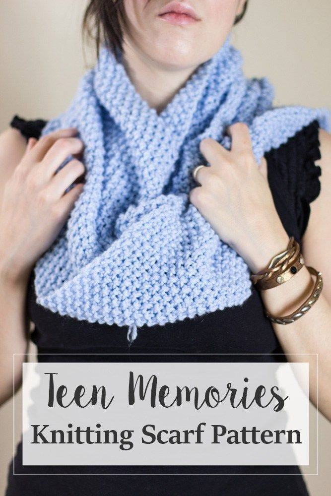 FREE Knitting Scarf Pattern, get this easy but classy ...
