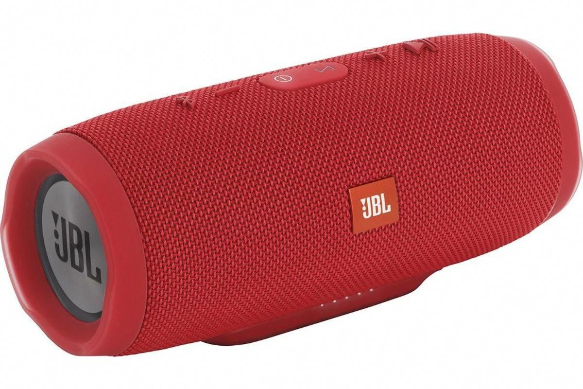 Jbl Charge 3 Portable Bluetooth Speaker In Red From Gardner White Furniture