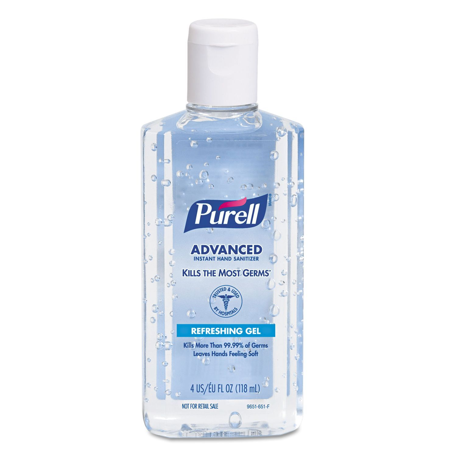 Purell 4 Oz Instant Hand Sanitizer W Aloe Pack Of 5 Clear In