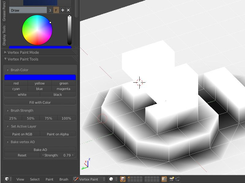 If you have ever tried bringing vertex colors in from
