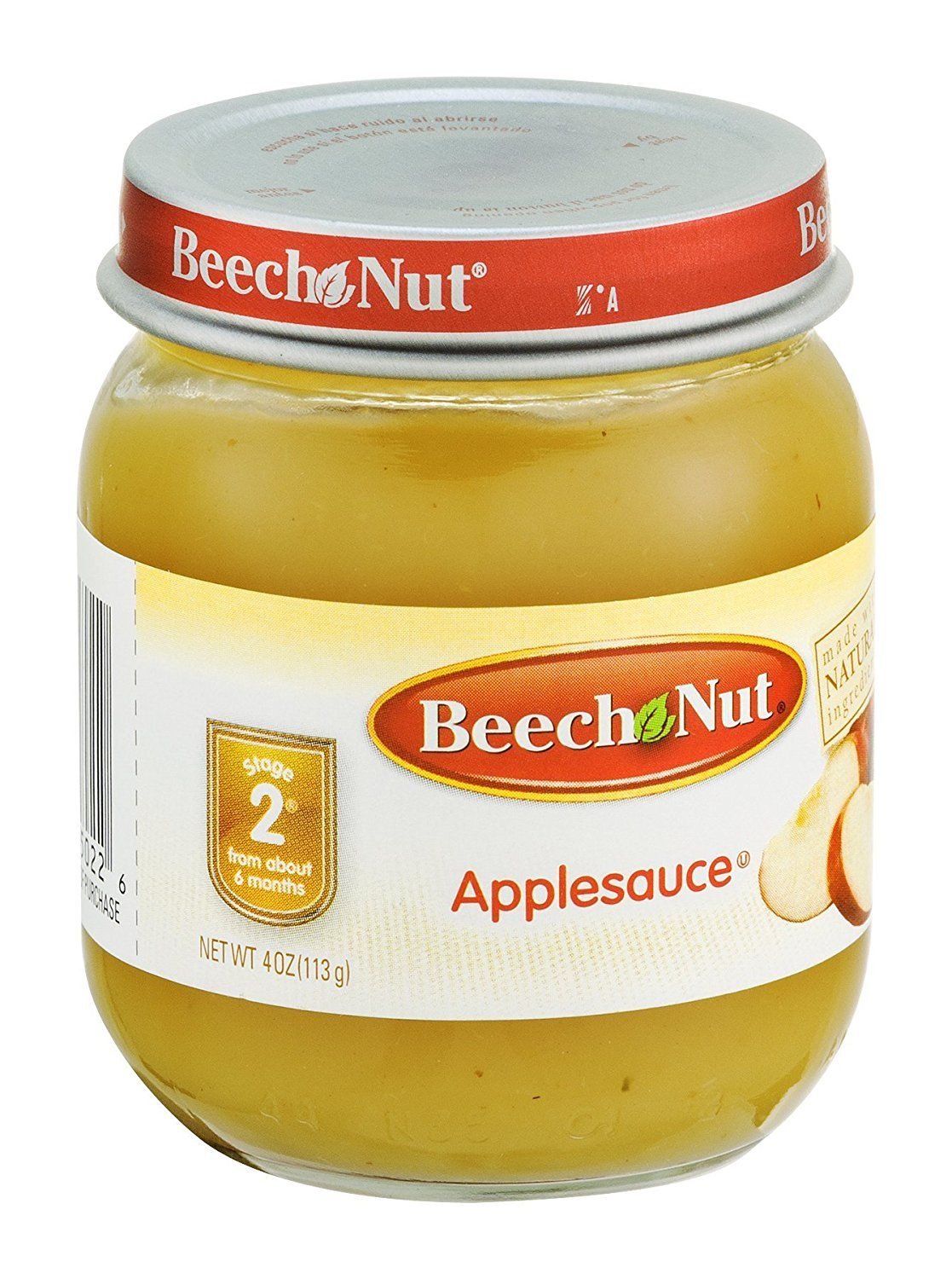 Beech nut applesauce stage 2 4 oz pack of 20 to view