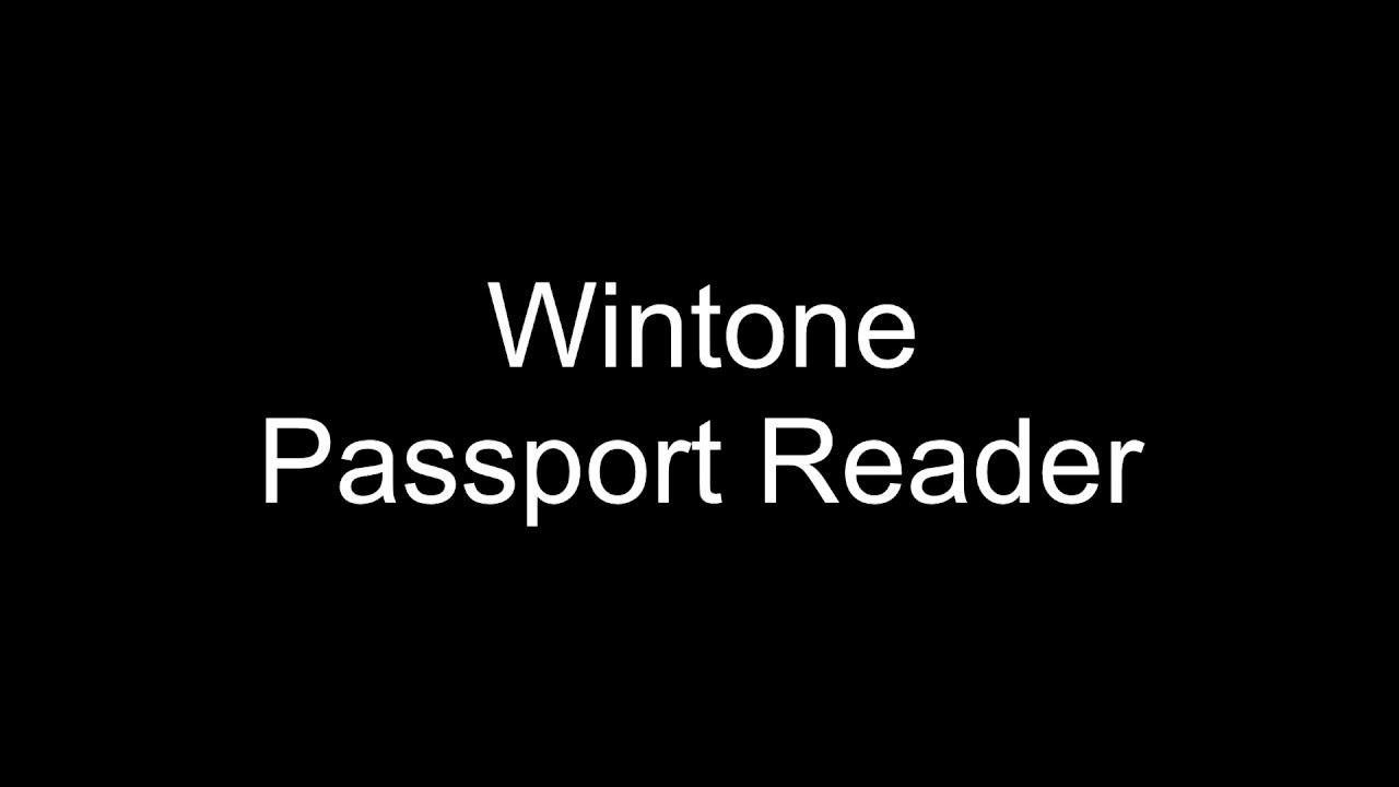 Passport reader, ID card scanner, ocr app solution for