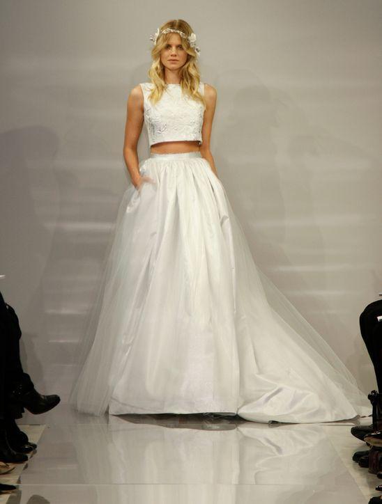 vestidos de novia en dos piezas | el blog de una novia | pinterest