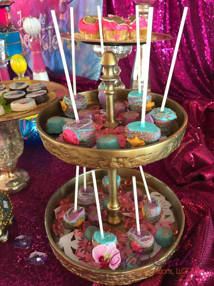 Shimmer And Shine Birthday Party Ideas Photo 4 Of 90