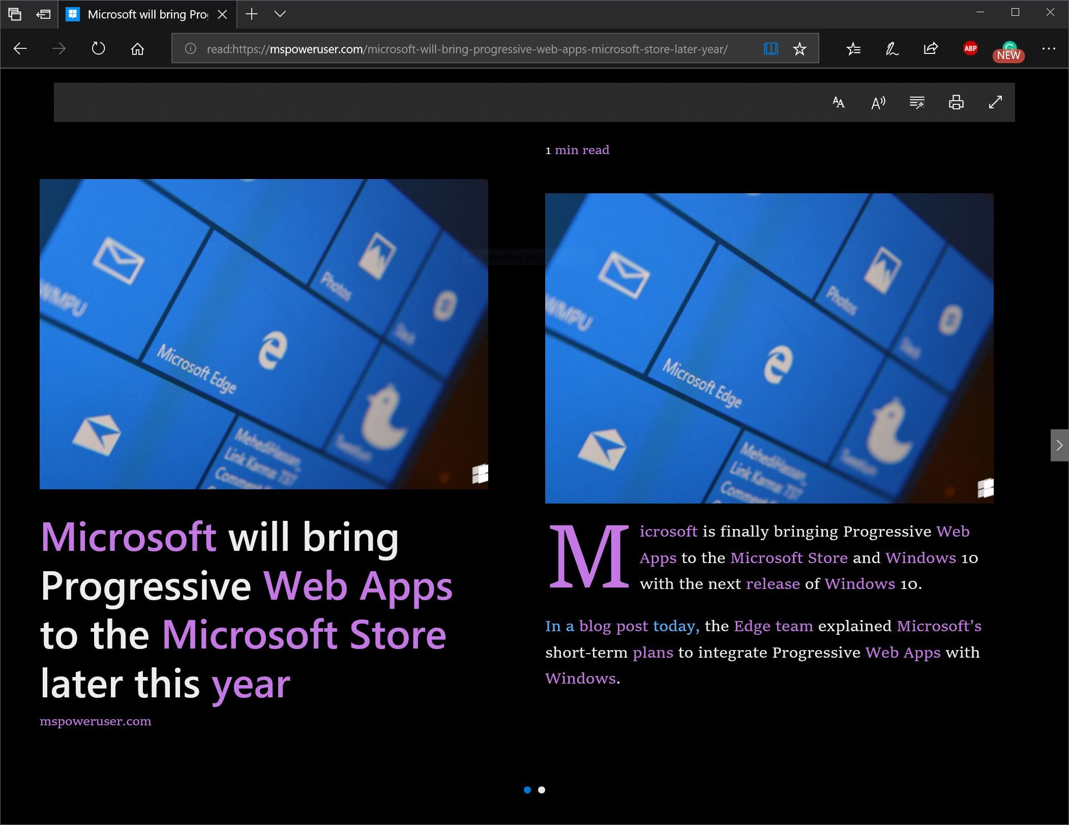 With the launch of Windows 10, Microsoft focused Edge on