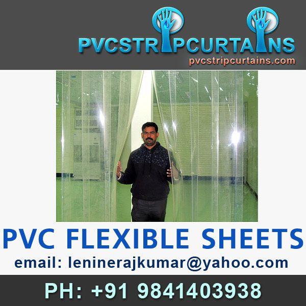 Kallerians Clear Transparent Pvc Strip Curtains Standard Pvc Strip