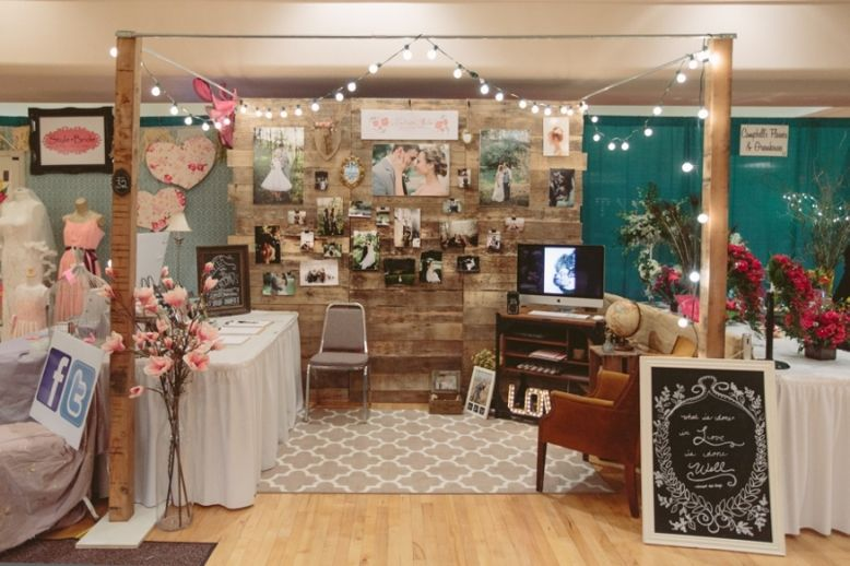 My booth at the Southern Bridal Show Booth | Bridal show ...