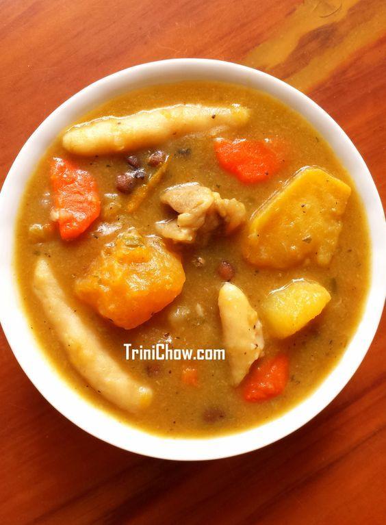 saturday soup trinidad  jamaican recipes recipes trini food