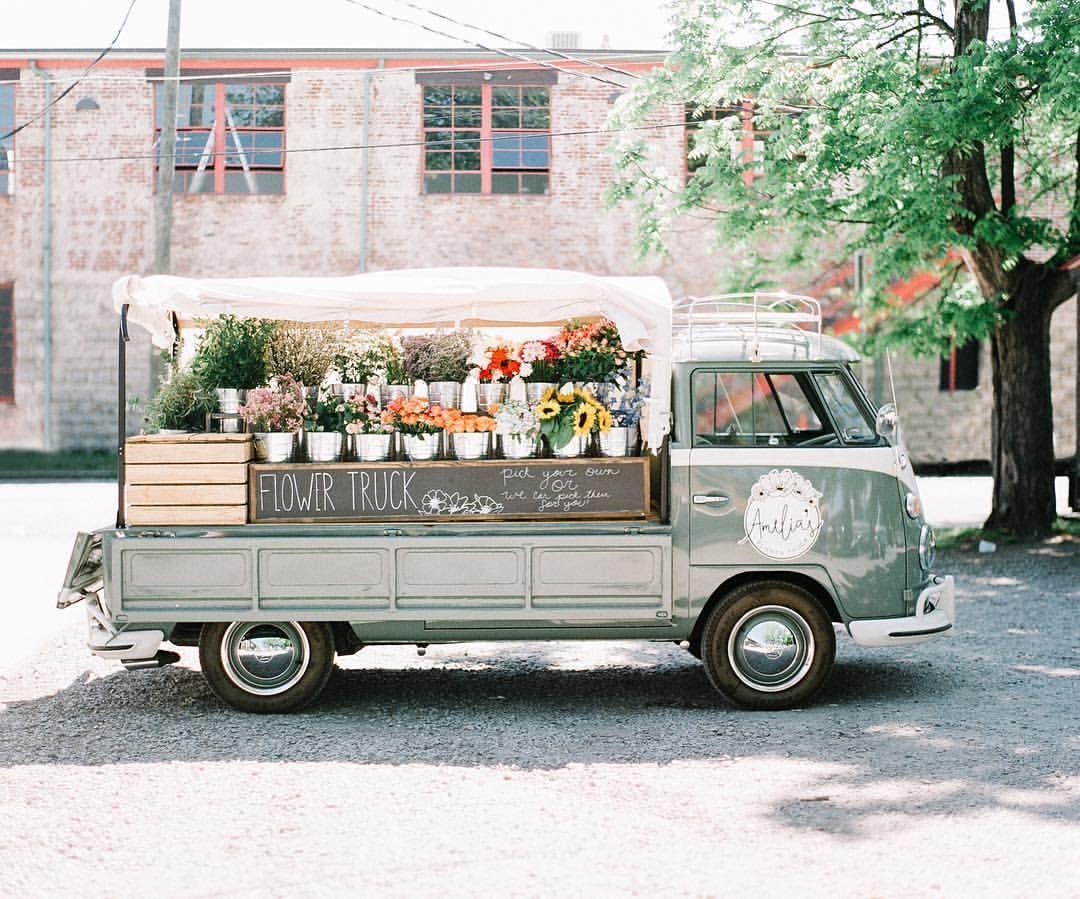 Pin by Hosanna LaMancusa on Flora Flower truck, Flowers