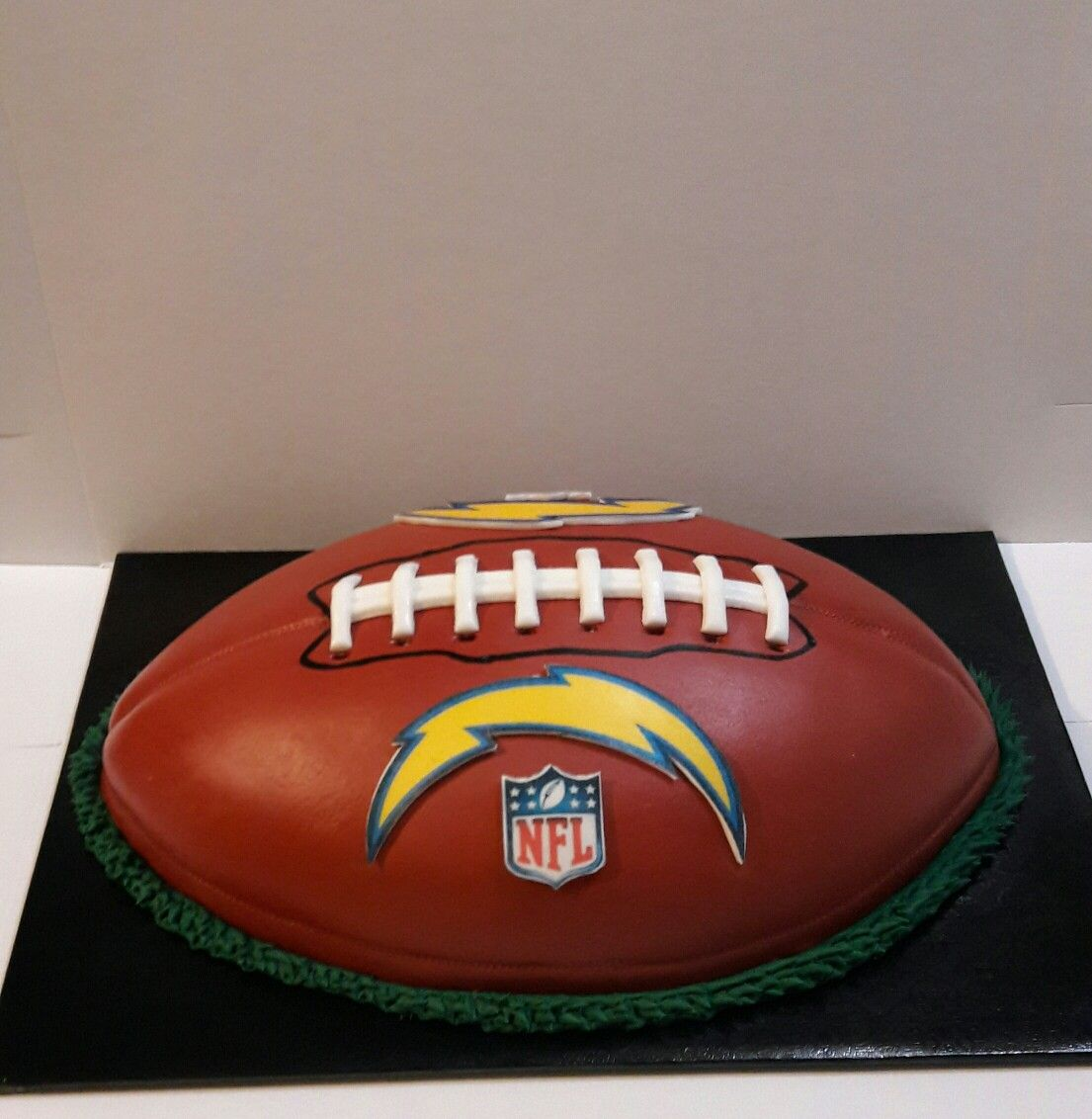 San Diego Chargers Cake: Pastel De Fútbol Americano, San Diego Chargers