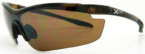 Xloop Sunglasses Tortoise Shell Wrap Cycling Motorcycle Biker Fishing Boat Golf 4072B Tromic Eyewear. $4.99