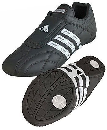 d912ba1c4 Martial Arts shoes - Adidas' Adiluxe Tae kwon do (TKD) shoes- Black/White  Stripes adidas. $89.95