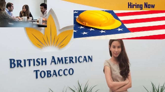 Vacancy!!! Vacancy!!! Vacancy!!! British American Tobacco