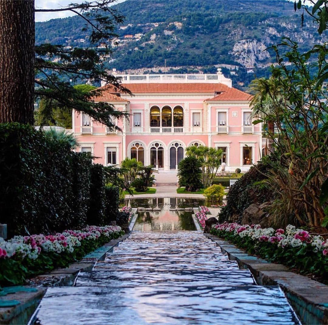 "Alexander Hoyle on Instagram: ""Villa Ephrussi 💘 #jardin ..."
