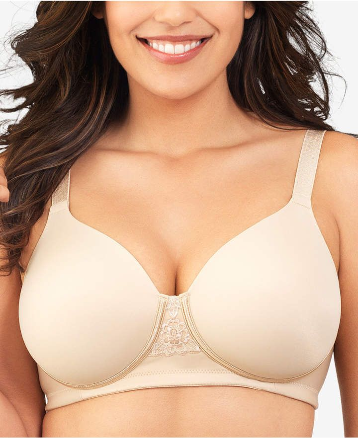 b08262d2c Full Figure Beauty Back Smoother Wireless Bra 71380  coverage provide cups