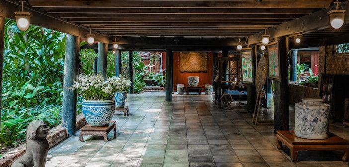 garden patio Jim Thompson House museum bangkok Thailand | Tour ...