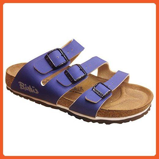 New Birkenstock Bahia Navy Ladies 41 N 10 Sandals for