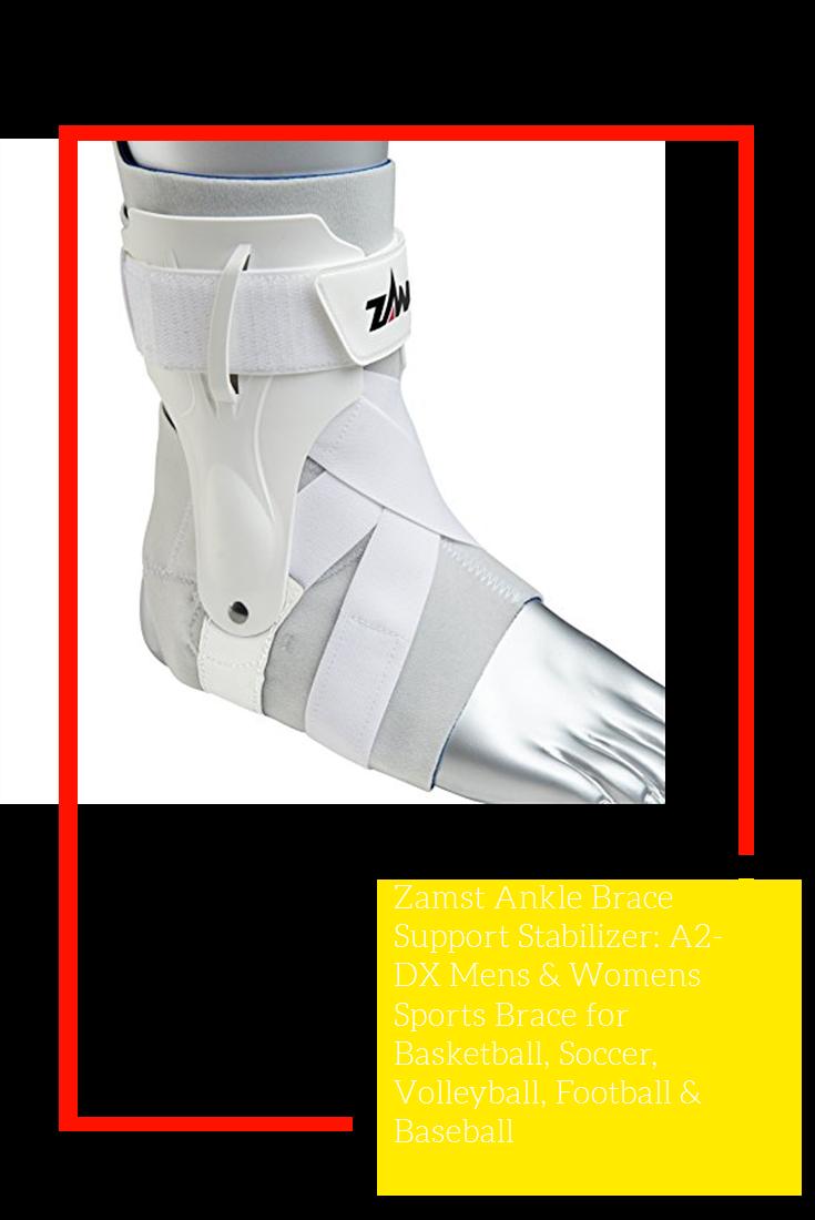 Zamst Ankle Brace Support Stabilizer A2 Dx Mens Womens Sports Brace For Basketball Soccer Volleyball Football B Sports Braces Ankle Braces Sports Women