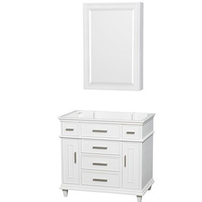 "Wyndham Collection Sheffield 30"" Single Bathroom Vanity Base Base Finish:"