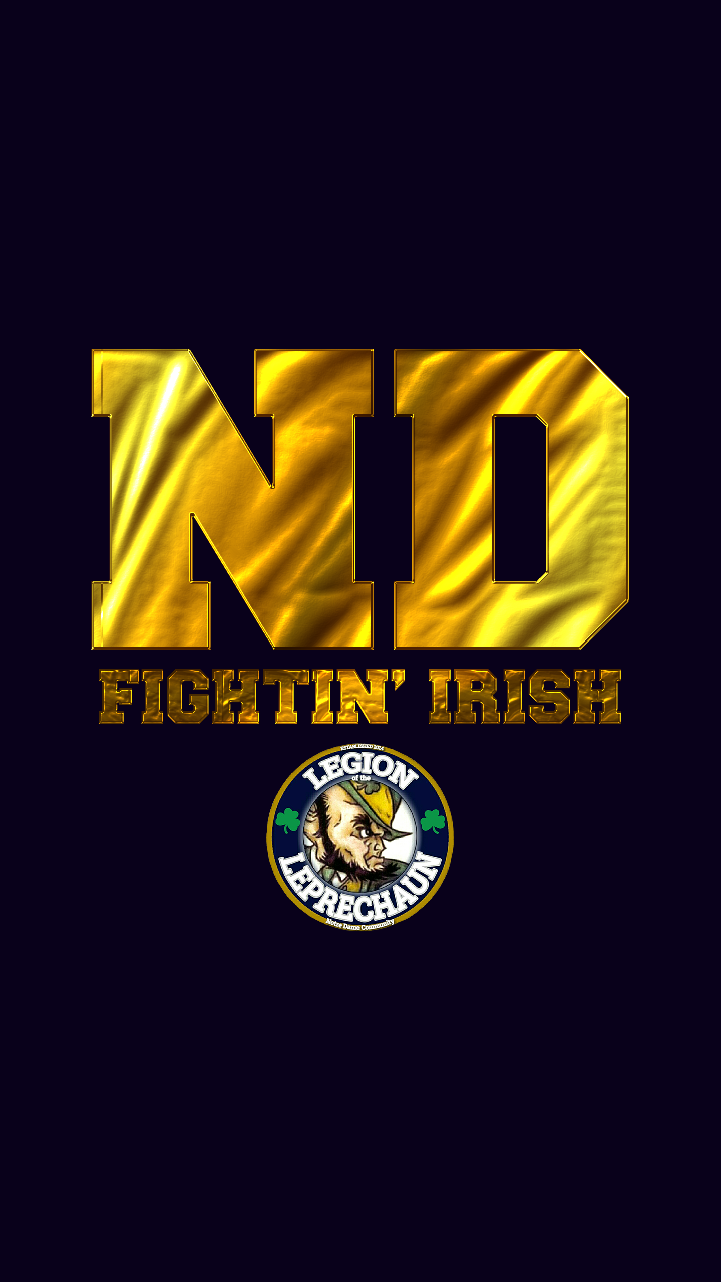 Notre Dame Iphone Android Wallpaper For Your Smart Phone Save And Download Image F Notre Dame Fighting Irish Football Notre Dame Irish Fighting Irish Football