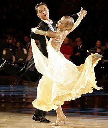 Baile De Salon Foxtrot Dance Waltz Dance Ballroom Dance