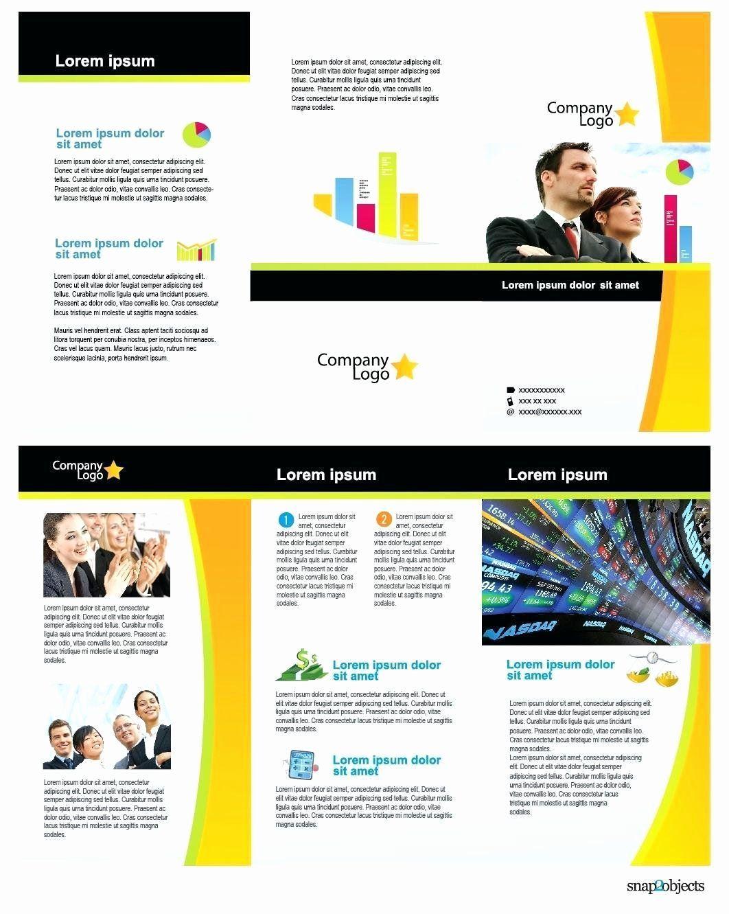 Microsoft Word Flyer Template Beautiful Free Business
