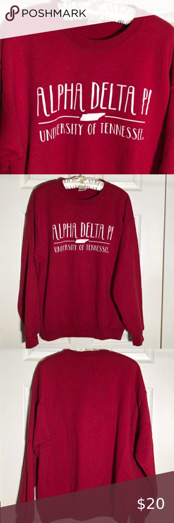 Gilden Alpha Delta Pi Sweatshirt Red Large E B17 Alpha Delta Pi Sweatshirts Sweatshirts Alpha Delta [ 1740 x 580 Pixel ]