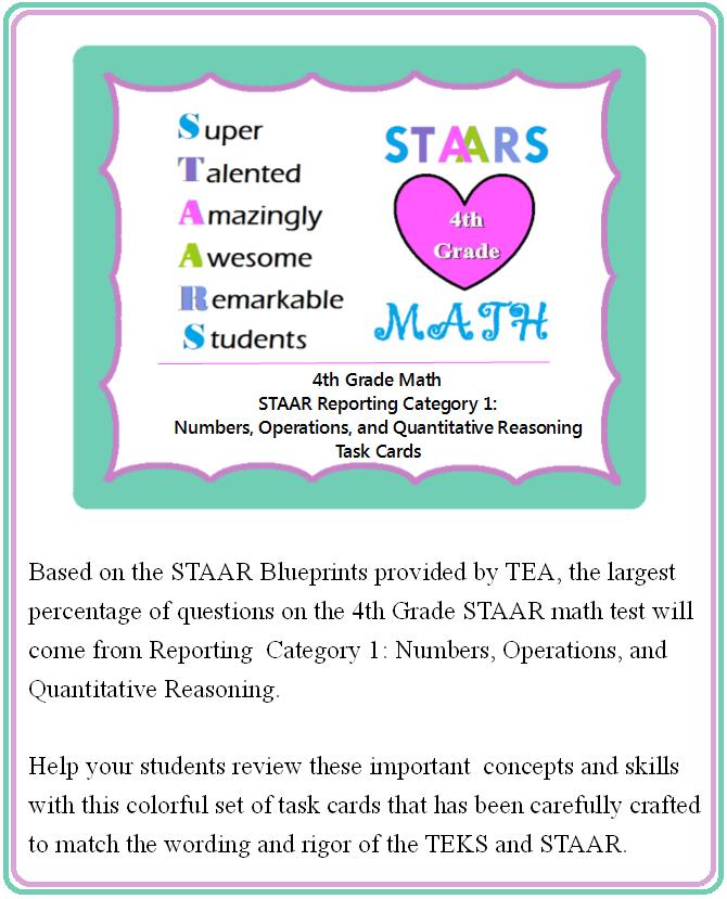 4th Grade Math STAAR: Numbers, Operations, & Quantitative