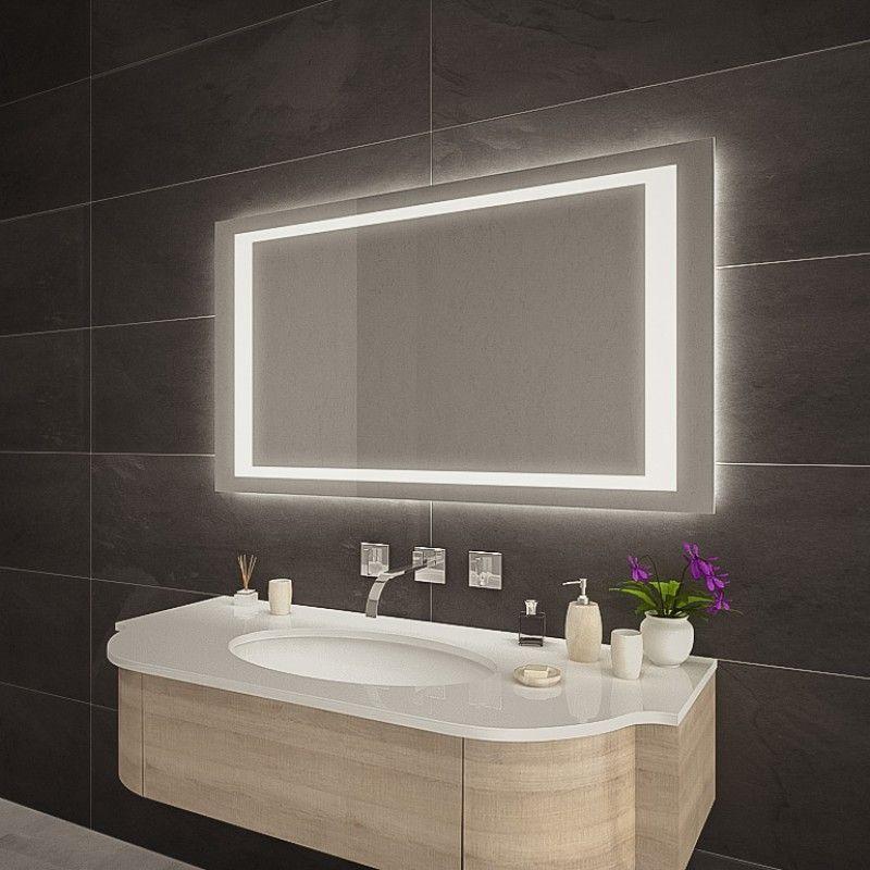 Badspiegel Mit Led Beleuchtung Kaufen Berja In 2020 Badspiegel Led Led Spiegel Badezimmerspiegel