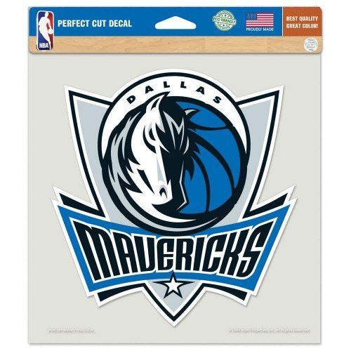 "Dallas Mavericks Perfect Cut Color Decal 8"" x 8"" ASFS"