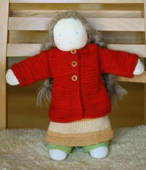 great doll clothes! (cardigan)