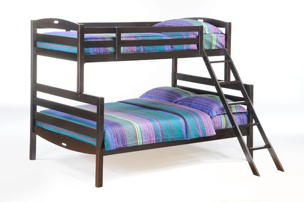 Looove this Single over Double Bunk Bed.  Will definitely have to do bunks. BedCetera, Vancouver, Canada